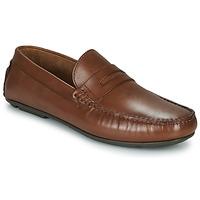 鞋子 男士 皮便鞋 André SLOTI 棕色