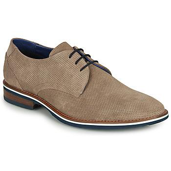 鞋子 男士 德比 André GRILLE 米色