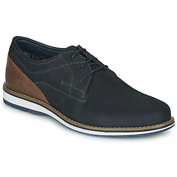 鞋子 男士 德比 André LINOS 海蓝色