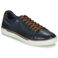 鞋子 男士 球鞋基本款 André SHANN 海蓝色