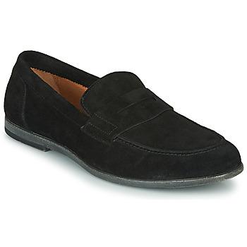 鞋子 男士 皮便鞋 André HARLAND 黑色
