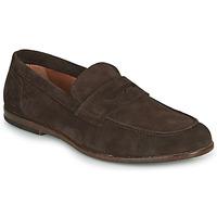鞋子 男士 皮便鞋 André HARLAND 棕色