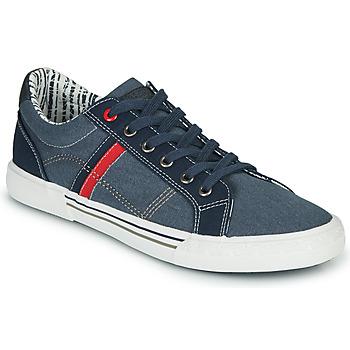 鞋子 男士 网球 André SUNWAKE 海蓝色