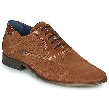 鞋子 男士 系带短筒靴 André WALACE 棕色