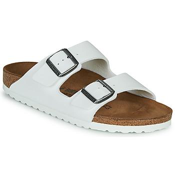 鞋子 女士 休闲凉拖/沙滩鞋 Birkenstock 勃肯 ARIZONA 白色