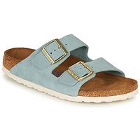 鞋子 女士 休闲凉拖/沙滩鞋 Birkenstock 勃肯 ARIZONA SFB LEATHER 蓝色
