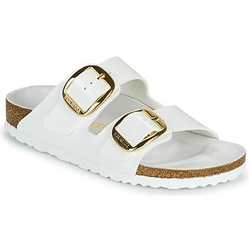 鞋子 女士 休闲凉拖/沙滩鞋 Birkenstock 勃肯 ARIZONA BIG BUCKLE 白色 / 金色