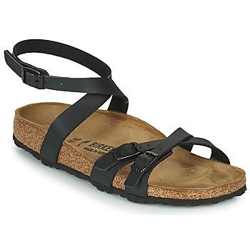 鞋子 女士 凉鞋 Birkenstock 勃肯 BLANCA 黑色