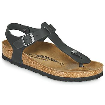 鞋子 女士 人字拖 Birkenstock 勃肯 KAIRO 黑色