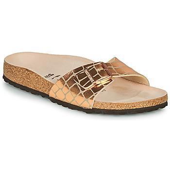 鞋子 女士 休闲凉拖/沙滩鞋 Birkenstock 勃肯 MADRID 金色