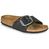 鞋子 女士 休闲凉拖/沙滩鞋 Birkenstock 勃肯 MADRID BIG BUCKLE 灰色 / Fonce