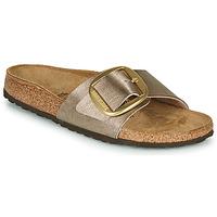 鞋子 女士 休闲凉拖/沙滩鞋 Birkenstock 勃肯 MADRID BIG BUCKLE Graceful / 灰褐色