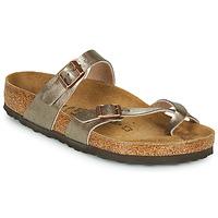 鞋子 女士 休闲凉拖/沙滩鞋 Birkenstock 勃肯 MAYARI 古銅色