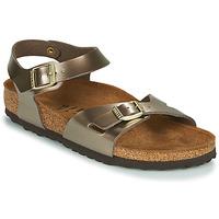 鞋子 女士 凉鞋 Birkenstock 勃肯 RIO 古銅色