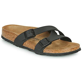 鞋子 女士 休闲凉拖/沙滩鞋 Birkenstock 勃肯 YAO BALANCE 黑色