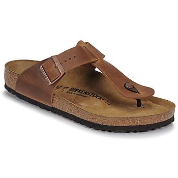 鞋子 男士 人字拖 Birkenstock 勃肯 MEDINA LEATHER Antique / 棕色