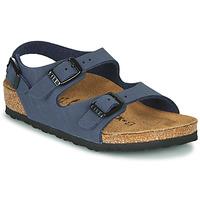 鞋子 男孩 凉鞋 Birkenstock 勃肯 ROMA 海蓝色