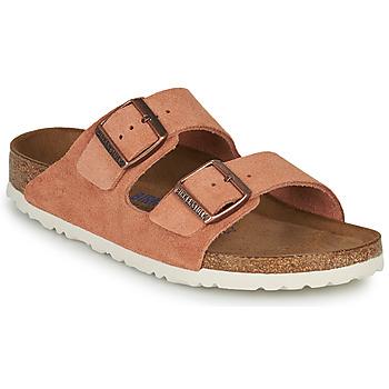 鞋子 女士 休闲凉拖/沙滩鞋 Birkenstock 勃肯 ARIZONA SFB LEATHER 铁锈色