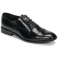 鞋子 男士 系带短筒靴 André CARLINGTON 黑色
