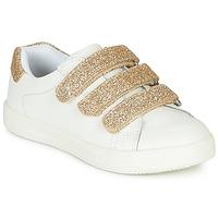 鞋子 女孩 球鞋基本款 André TRACIE 白色