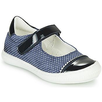 鞋子 女孩 平底鞋 André ISALIE 海蓝色