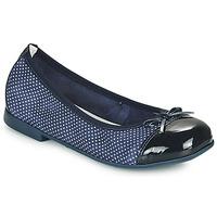 鞋子 女孩 平底鞋 André PIA 海蓝色