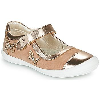 鞋子 女孩 平底鞋 André ORIANNE 玫瑰色