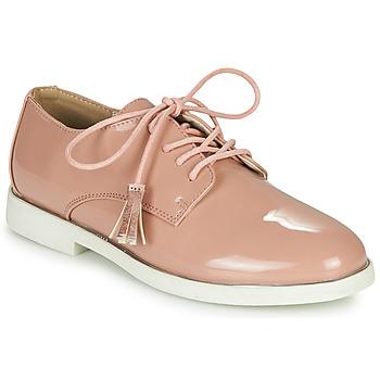 鞋子 女孩 德比 André ROSINE 玫瑰色