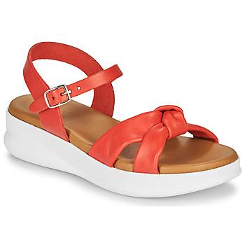 鞋子 女孩 凉鞋 André NORA 红色