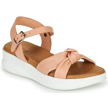 鞋子 女孩 凉鞋 André NORA 玫瑰色