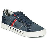 鞋子 男孩 球鞋基本款 André ALAN 蓝色