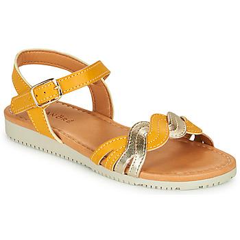 鞋子 女孩 凉鞋 André TRESSIA 黄色