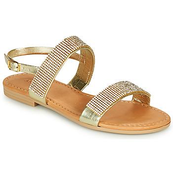 鞋子 女孩 凉鞋 André DORIANNE 金色