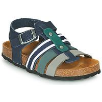 鞋子 男孩 凉鞋 André TRISTAN 海蓝色