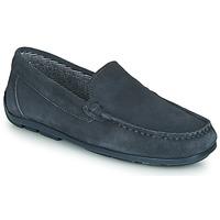 鞋子 男孩 皮便鞋 André MANU 灰色