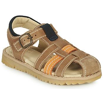 鞋子 男孩 凉鞋 André LEOPAUL 棕色