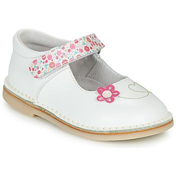 鞋子 女孩 平底鞋 André ISABELLA 白色