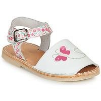 鞋子 女孩 凉鞋 André SILENA 白色