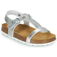 鞋子 女孩 凉鞋 André SYLVIE 银灰色
