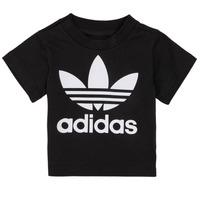 衣服 儿童 短袖体恤 Adidas Originals 阿迪达斯三叶草 MARGOT 黑色
