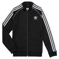 衣服 兒童 運動款外套 Adidas Originals 阿迪達斯三葉草 LYAM 黑色