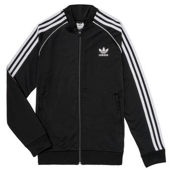 衣服 儿童 运动款外套 Adidas Originals 阿迪达斯三叶草 LYAM 黑色