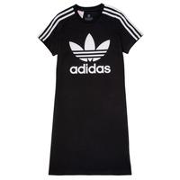 衣服 女孩 短裙 Adidas Originals 阿迪达斯三叶草 SALOME 黑色