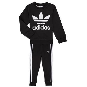 衣服 儿童 女士套装 Adidas Originals 阿迪达斯三叶草 LOKI 黑色