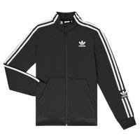 衣服 男孩 運動款外套 Adidas Originals 阿迪達斯三葉草 MARIEME 黑色
