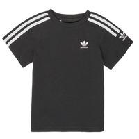衣服 男孩 短袖体恤 Adidas Originals 阿迪达斯三叶草 MINACHE 黑色