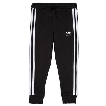 衣服 儿童 厚裤子 Adidas Originals 阿迪达斯三叶草 LOOAI 黑色