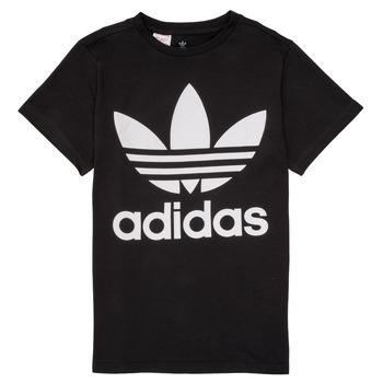 衣服 儿童 短袖体恤 Adidas Originals 阿迪达斯三叶草 MAXENCE 黑色
