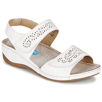 鞋子 女士 涼鞋 Damart MILANA 白色