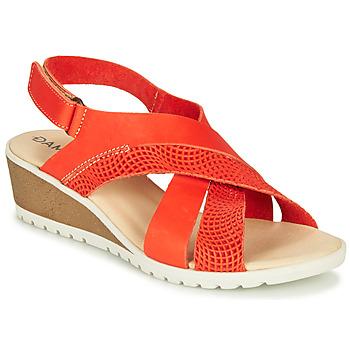 鞋子 女士 凉鞋 Damart MAYLO Paprika